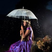Puberty girl - rainy scene - Studio Delight Premium Photographers in Sri Lanka